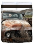 Ford Old Pickup Duvet Cover