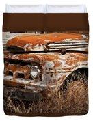 Ford Old School Bus Duvet Cover