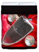 Ford Roadster V8 Duvet Cover