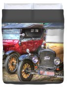 Ford-t  Mobiles Of The 20th Duvet Cover
