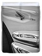 Ford Thunderbird Emblem -0505bw Duvet Cover