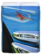 Ford Thunderbird Emblem -0505c Duvet Cover