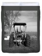 Ford Tractor Rear View Duvet Cover