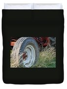 Ford Tractor Tire Duvet Cover by Jennifer Ancker