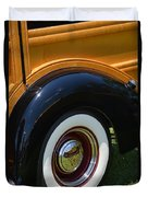 Ford Wagon Duvet Cover