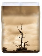 Foreboding Clouds Over Ghost Tree 1 Duvet Cover
