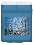 Foreground Frost Duvet Cover