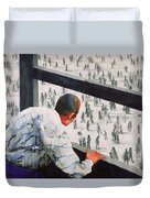 Foreign Correspondent Duvet Cover by Graham Dean