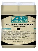 Foreigner Double Vision Side 1 Duvet Cover
