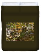 Forest Above The Cave Duvet Cover
