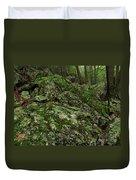 Forest Boulder Field Duvet Cover