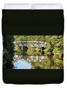Forest Bridge Duvet Cover by Dan Sproul