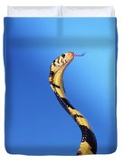 Forest Cobra Naja Melanoleuca Duvet Cover