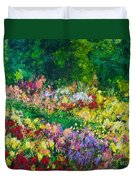 Forest Garden Duvet Cover