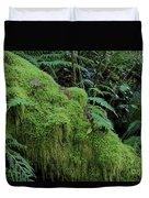 Forest Greenery Duvet Cover