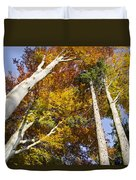 Forest In Autumn Bavaria Duvet Cover