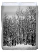 Forest Of Snow Duvet Cover