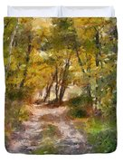 Forest Path Duvet Cover