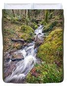 Forest Rapids Duvet Cover
