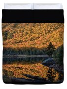 Forest Reflection Duvet Cover