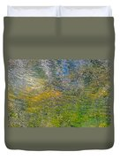 Forest Reflection Duvet Cover by Roxy Hurtubise
