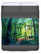 Forest Scene 1 Duvet Cover
