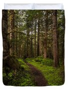 Forest Serenity Path Duvet Cover