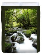 Forest Stream Duvet Cover