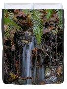 Forest Streamlet Duvet Cover