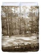 Forest Theater Carmel California  Circa 1930 Duvet Cover
