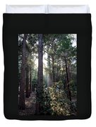 Forest Through The Trees Duvet Cover