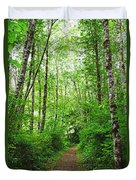 Forest Trail To Follow Duvet Cover