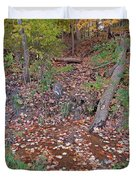 Forest Trickle Duvet Cover