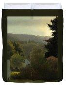 Forested Hills Duvet Cover