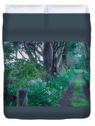 Forested Path Duvet Cover