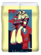 Forever Marilyn Poster Duvet Cover