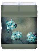 Forget Me Not 01 - S22dt06 Duvet Cover