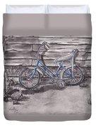 Forgotten Banana Seat Bike Duvet Cover
