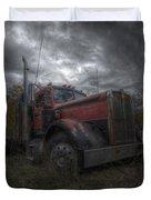 Forgotten Big Rig 2014 Duvet Cover