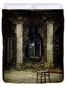 Forgotten Courtyard Duvet Cover