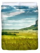Forgotten Fields Duvet Cover
