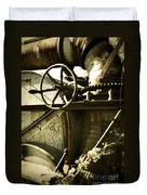 Forgotten Machine 4710 Duvet Cover