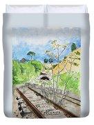 Forgotten Railway Duvet Cover