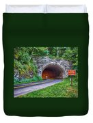 Fork Mountain Tunnel Duvet Cover