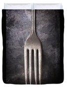 Fork Still Life Duvet Cover