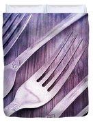 Forks Duvet Cover