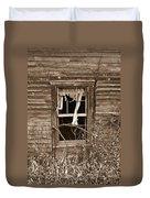 Forlorn Window Duvet Cover