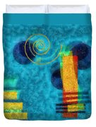 Formes 02b Duvet Cover by Variance Collections