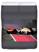 Formula 1 Grand Prix Crash Duvet Cover