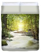 Forrest Stream Duvet Cover